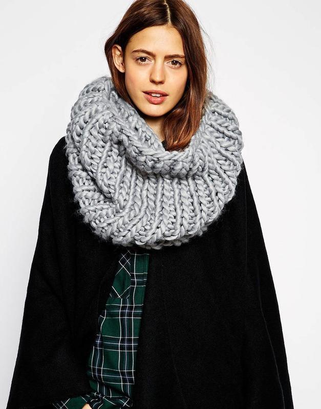 Как вязать красивые шарфы и хомуты