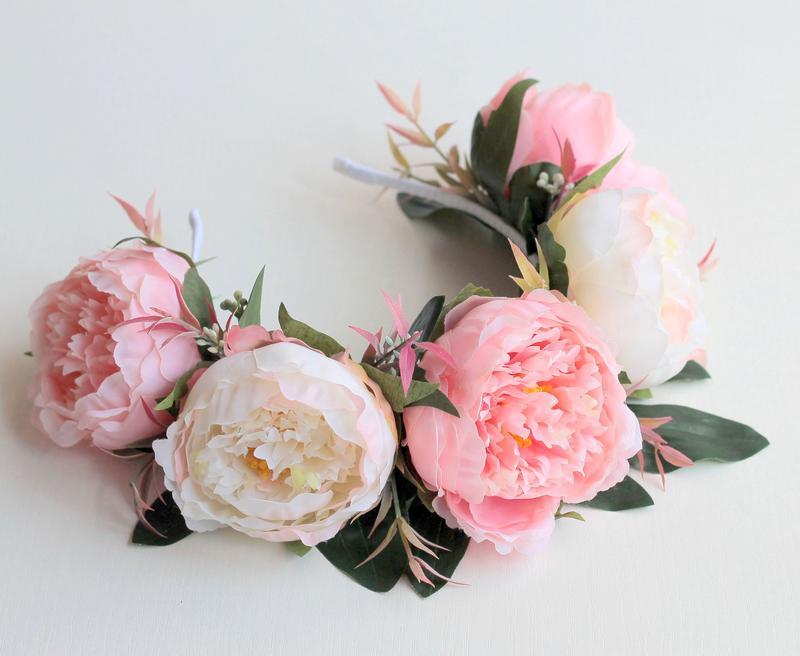 Роза и пион своими руками 184