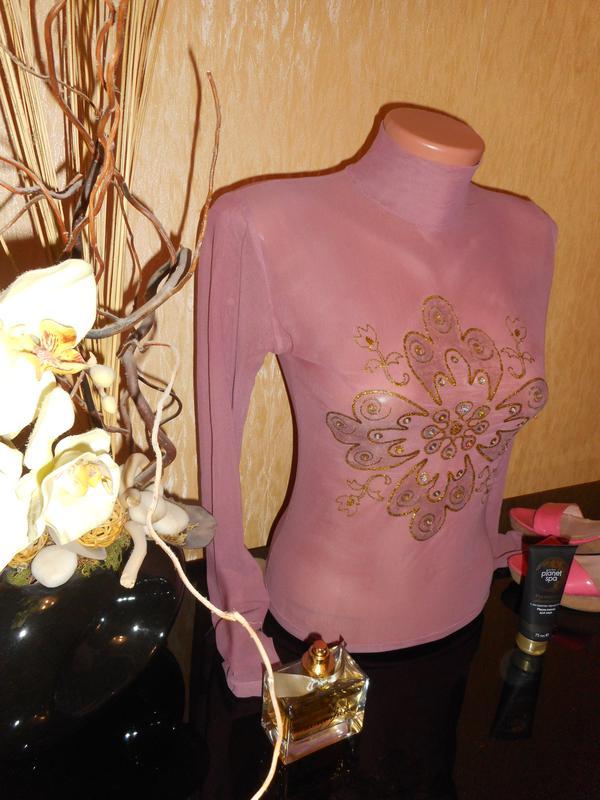 Блузка сеточка доставка