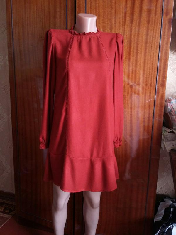Платье Туника С Длинным Рукавом