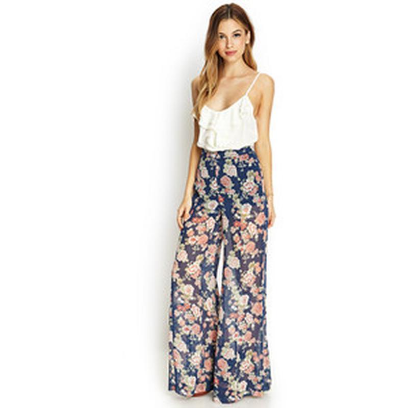 Широкие юбка брюки