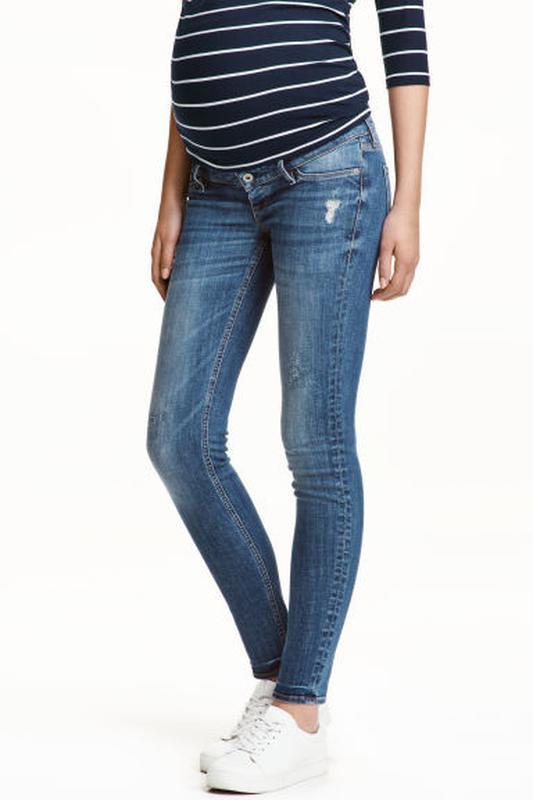 H and m джинсы для беременных 933