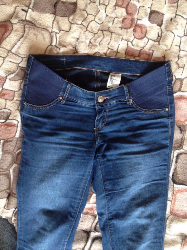 H and m джинсы для беременных 477