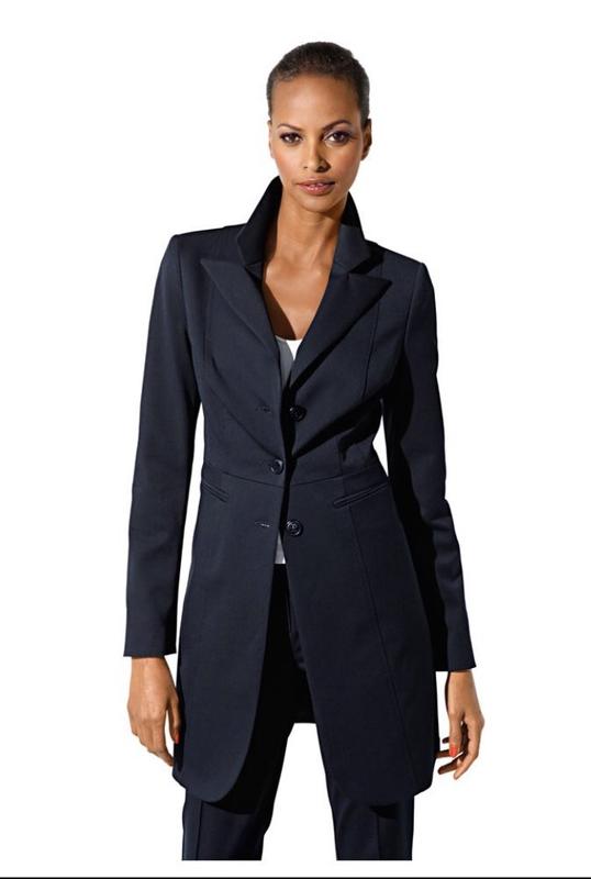 Женский пиджак длинный