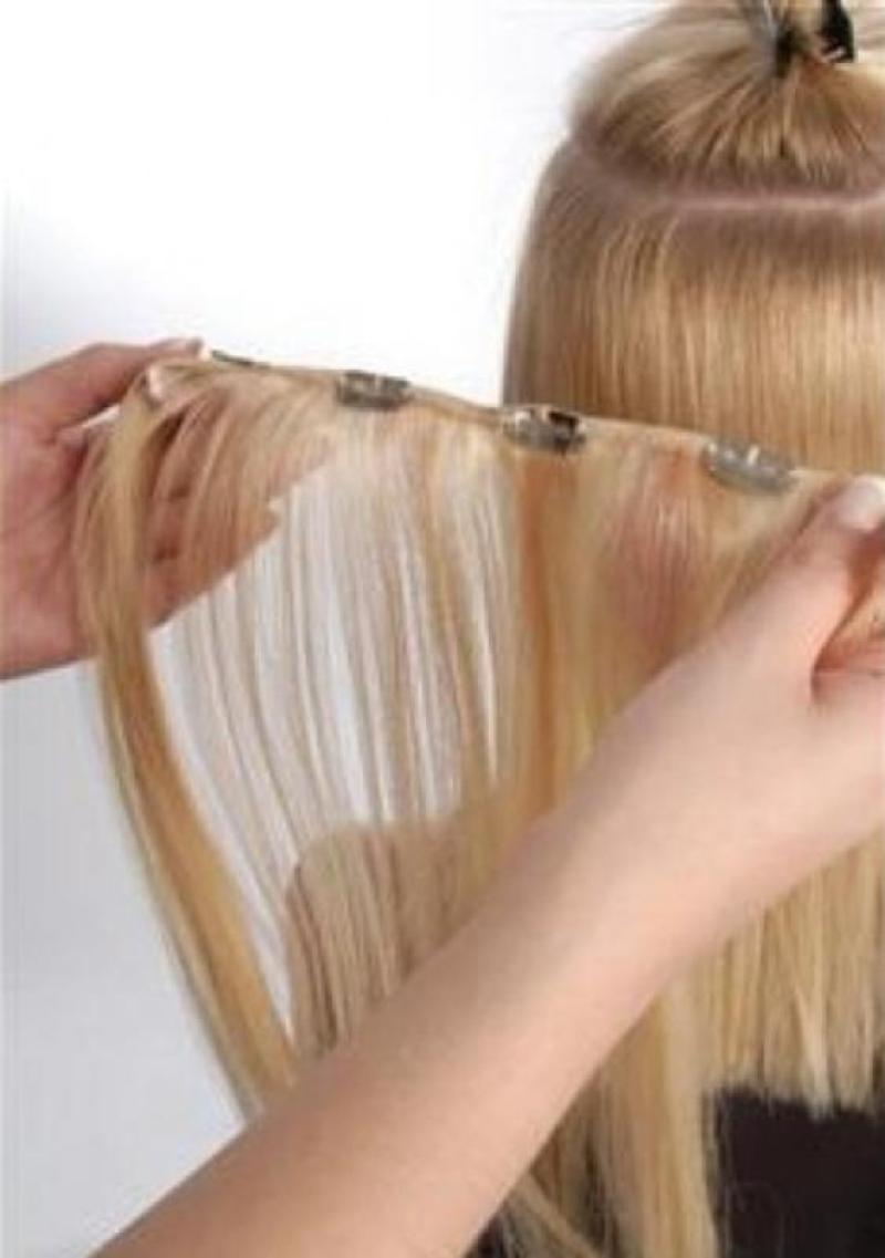 Как подстрич нарощенные волосы под своими руками