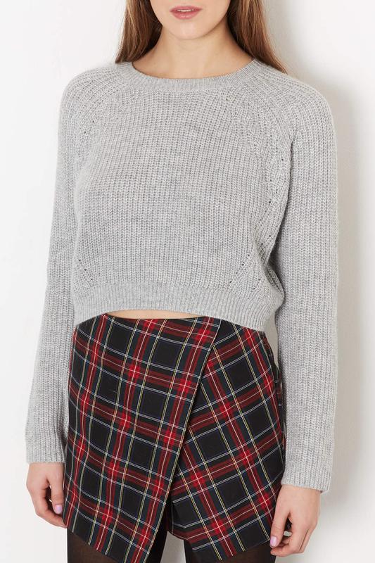 Вязание кроп свитера 95