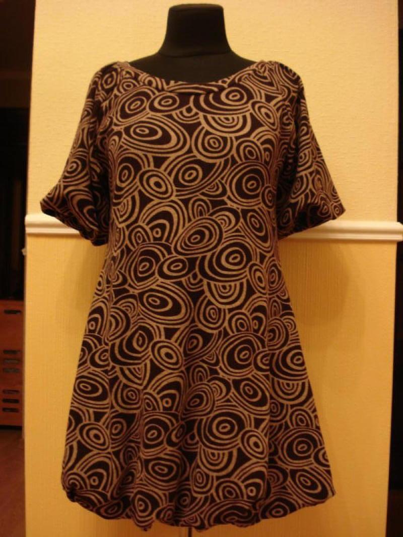 Платье для беременных свободного кроя
