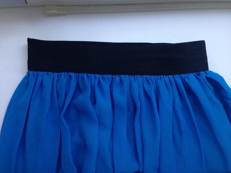 Как сшить шифоновую юбку на резинке 11