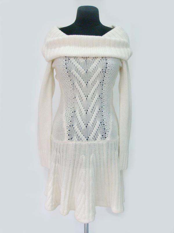 Теплое вязаное платье victoria s secret