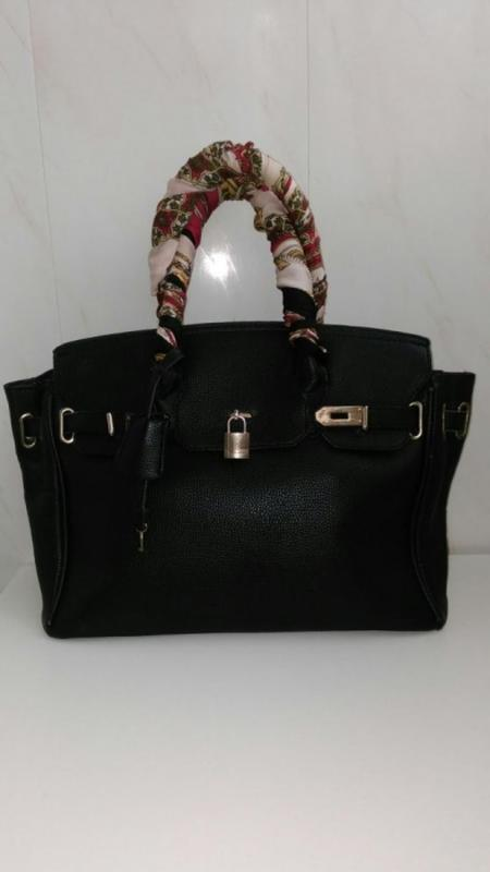 Сумка hermes birkin   женская черная сумка Hermes, цена - 400 грн ... 98ec39a0c79
