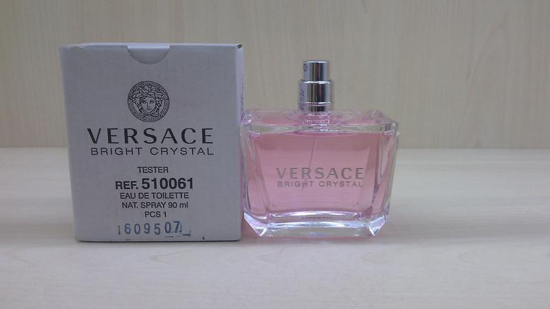 Versace bright crystal тестер 90 мл оригинал туалетная вода версаче духи  брайт кристал1 ... 083a8bca6d971