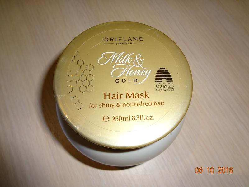 Маска для волос молоко и мед