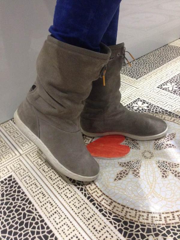Зимние кожаные сапоги adidas оригинал каждодневное обновление-подписуйтесь1  ... 610e8e77538