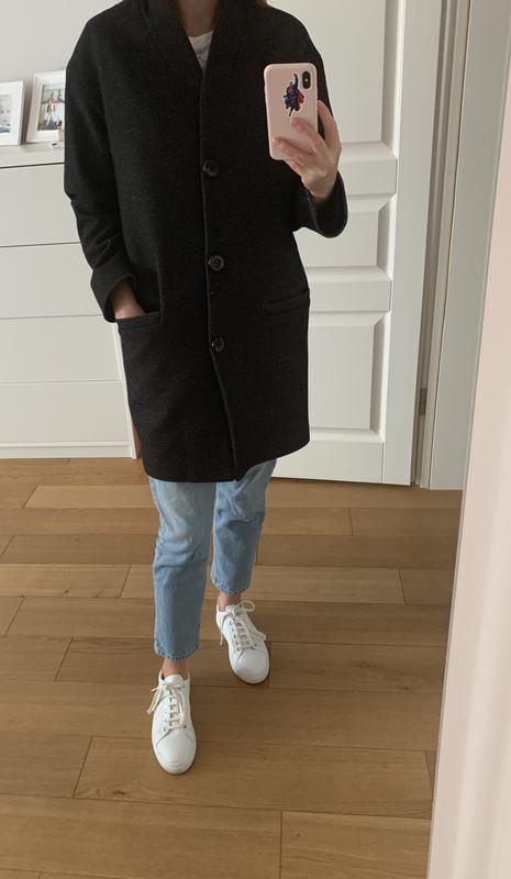 Шерстяное пальто , оверсайз, цена - 750 грн, #26566920, купить по доступной цене | Украина - Шафа