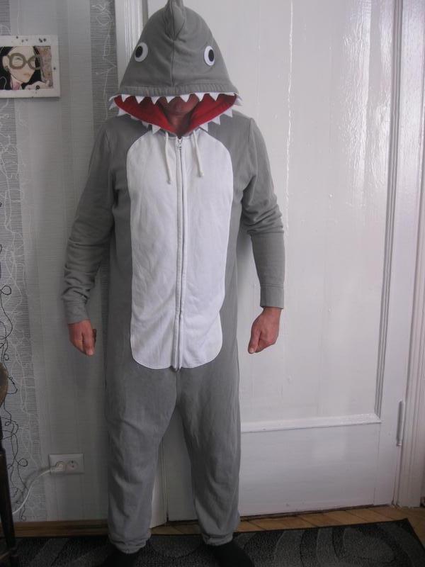 Кигуруми акула слип теплая пижама костюм домашний (л-хл, Primark, цена - 300 грн, #3033883, купить по доступной цене | Украина - Шафа