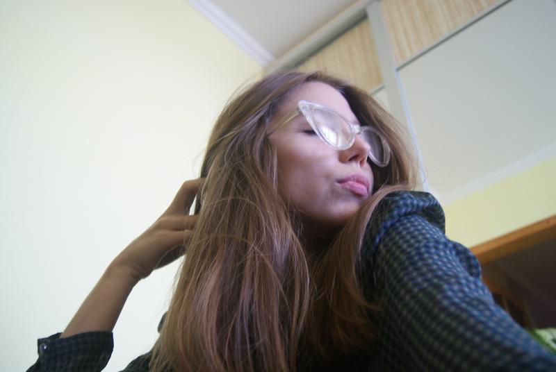 Прозорі стильні окуляри!1 ... d67c6f05c968d