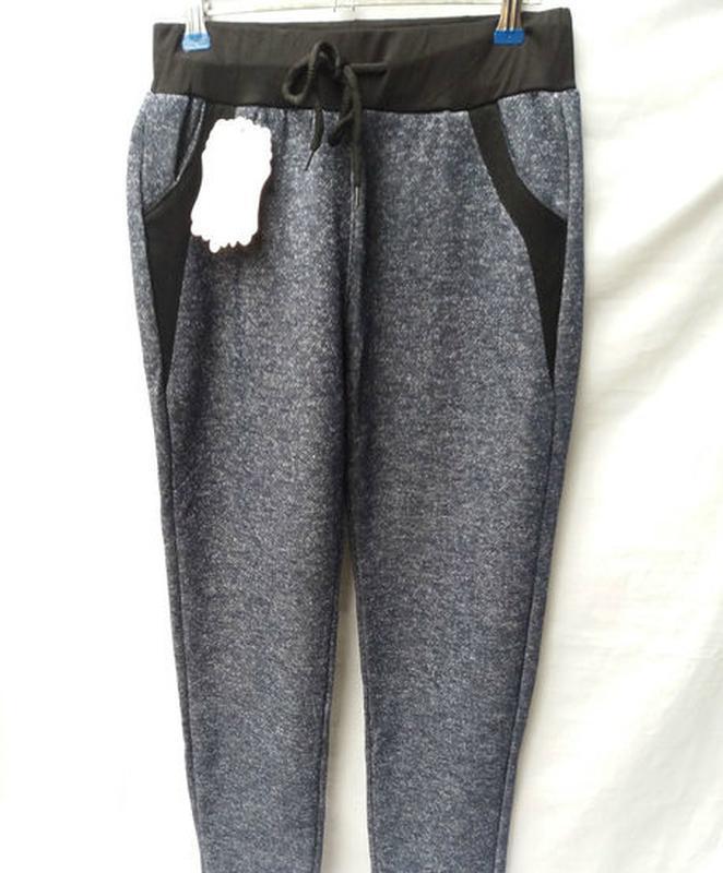 Жіночі теплі спортивні штани трикотаж на флісі l1 ... 7de1c437428f7
