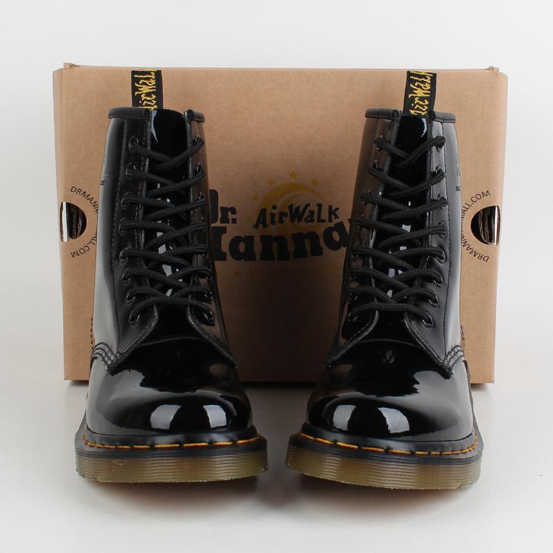 Лаковые ботинки dr.martens (оригинал) Dr. Martens 9ac5569d93c2a