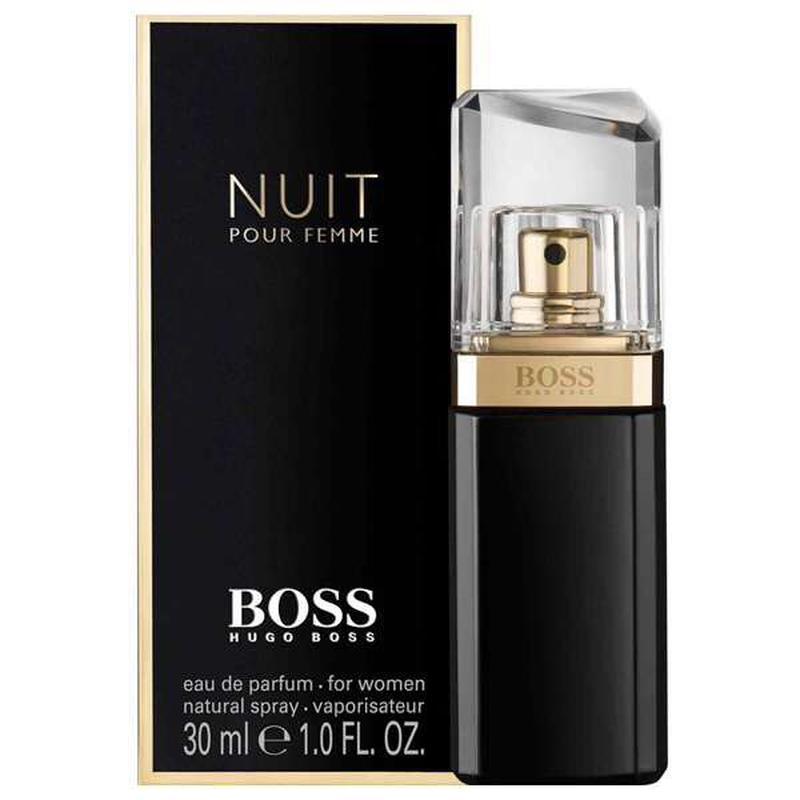 духи и лосьон для тела Hugo Boss Nuit Pour Femme з Dutti Free