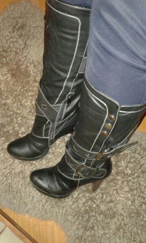Високі чоботи сапоги1 ... 7ab83d7edee48