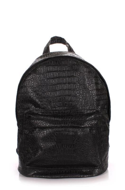 Черный рюкзак под кожу крокодила+подарок )), цена - 350 грн ... 3e6de8113ac