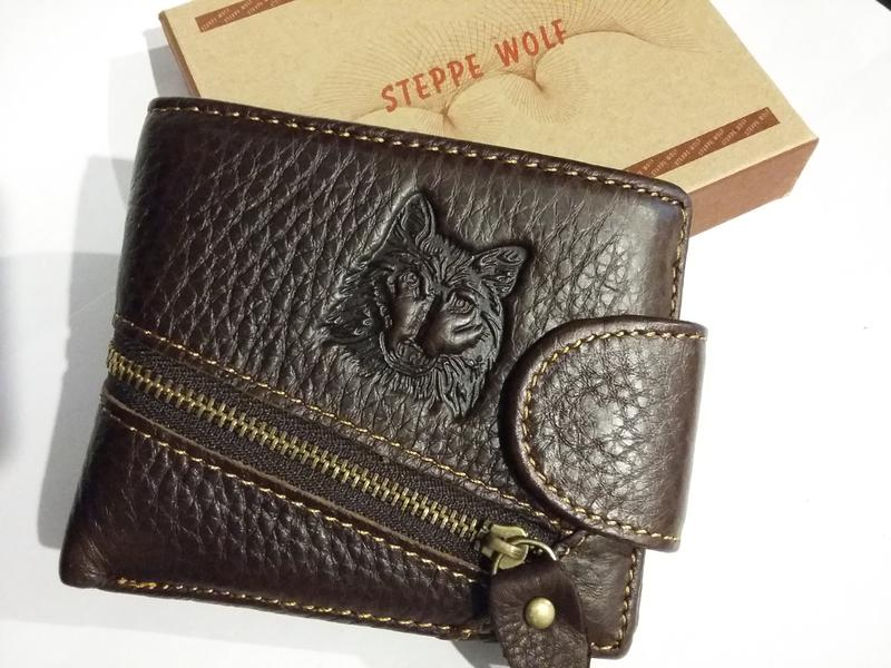cefde4b02936 Кошелек портмоне натуральный кожаный steppe wolf, цена - 245 грн ...