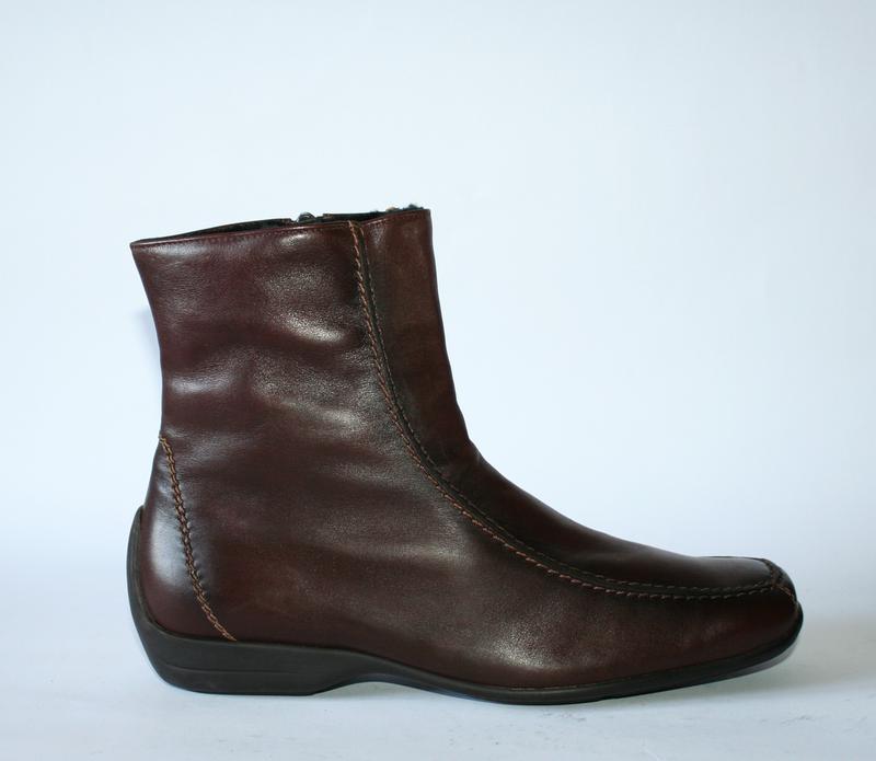 4255793a Зимние ботинки semler германия натуральная кожа мех на мороз 36, 38 и 39р1  ...