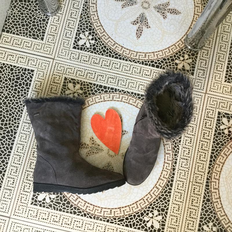 Зимние кожаные полусапожки gore tex бренд ежедневное обновление-  подписуйтесь1 ... eb3ddedaf16