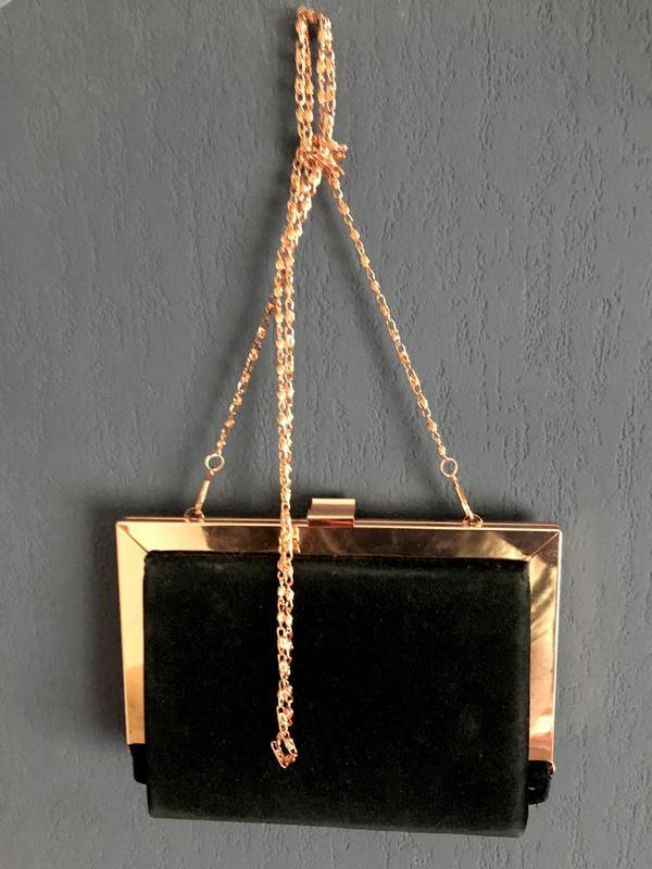 b6b1c2ff0428 Чёрный клатч на цепочке, цена - 380 грн, #3208553, купить по ...