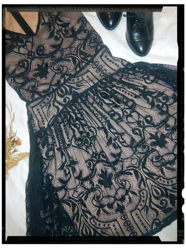 60c1fa0cf98fe5e Шикарное платье гипюр, кружево Warehouse, цена - 250 грн, #3222647 ...