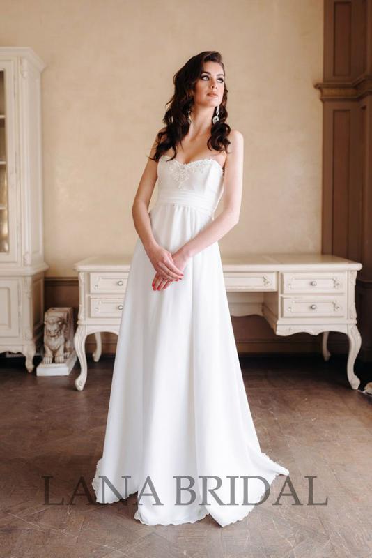 66ebc3f7570 Свадебное платье в стиле бохо1 фото ...