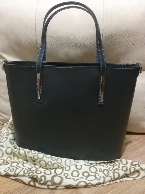 03342691e40d Итальянская кожаная сумка vera pelle Vera Pelle, цена - 1700 грн ...