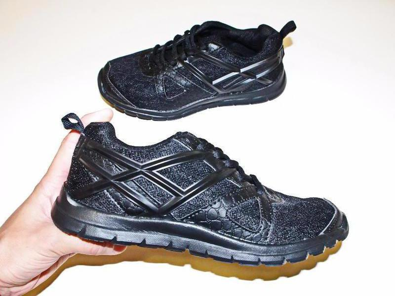 515e8579 Кроссовки workout memory foam германия 35рр ортопедическая стелька черные  бег зал run фитнес1 ...