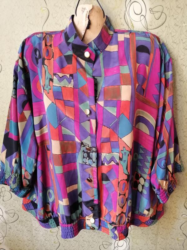 Felicia винтажная блуза в принт. Felicita, цена - 150 грн, #28890078, купить по доступной цене | Украина - Шафа