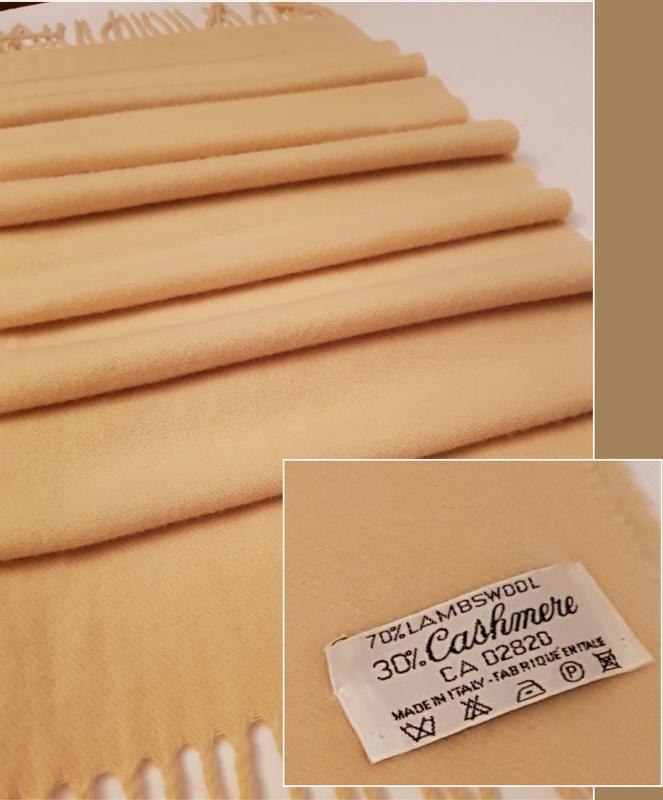 Италия! роскошный мягкий и теплый шарф шерсть + кашемир Италия, цена - 190 грн, #28994736, купить по доступной цене | Украина - Шафа