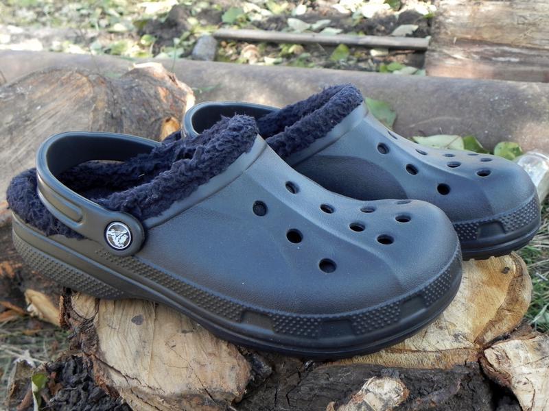 Crocs кроксы с утеплителем 39 р-р Crocs, цена - 450 грн, #3284258, купить по доступной цене | Украина - Шафа