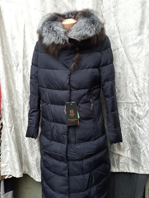 Женский пуховик Snow Beauty из итальянской блестящей ткани, цена 3 ... | 800x600