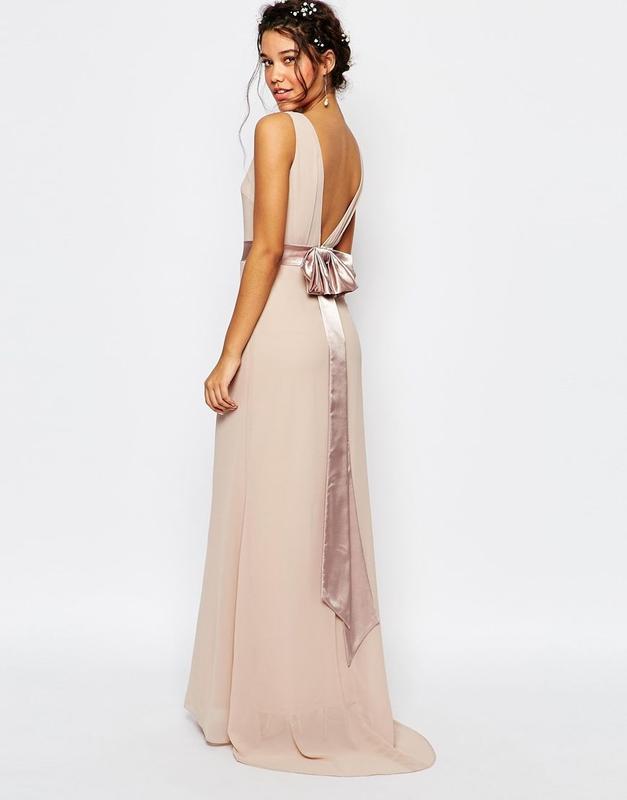 ??нас 10 тысяч??happy sale?  красивое вечернее платье с бантои шлейфом беж TFNC, цена - 450 грн, #29486347, купить по доступной цене   Украина - Шафа