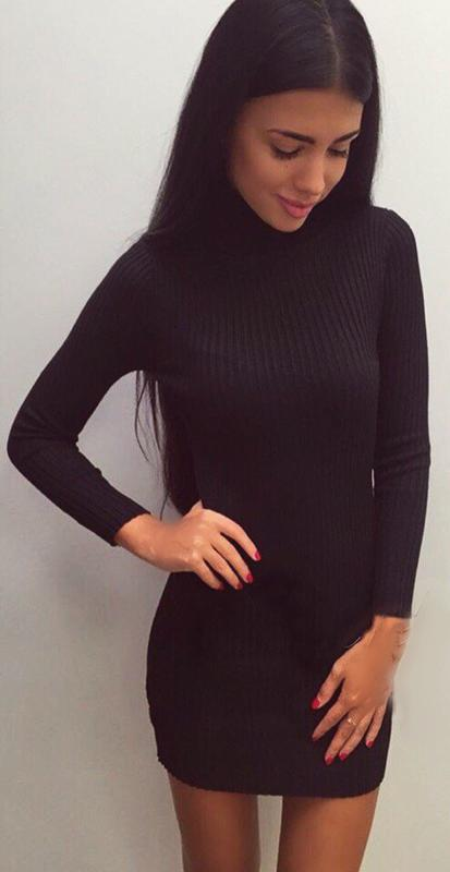 Платье лапша фото черное