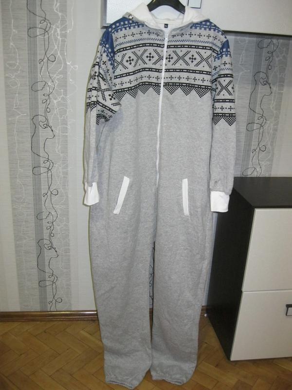 Теплый домашний спортивный комбинезон костюм слип кигуруми пижама футужама  (2 хл) высокий рост1 ... 02871dd588336