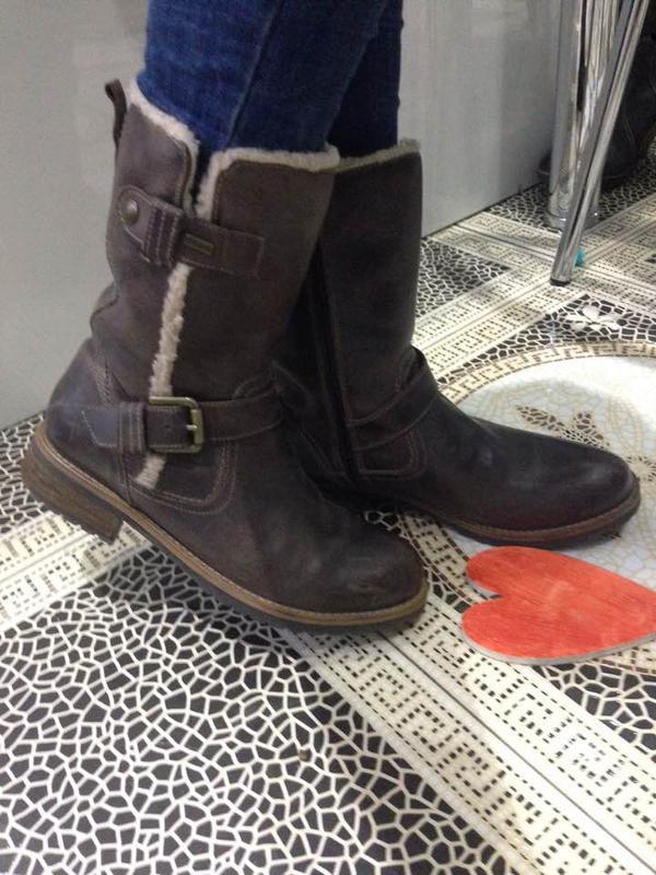 Зимние кожаные ботинки стиль гранж ultratex stone walk ежедневное обновление -подписуйтесь1 ... 634e05459b3