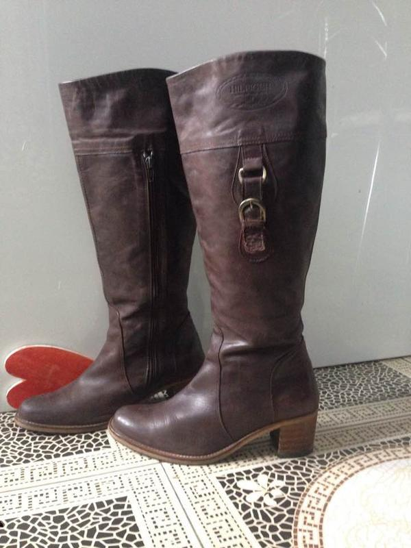 Шикарные кожаные сапоги tommy hilfiger оригинал ежедневное обновление-  подписуйтесь1 ... c45152eaf75
