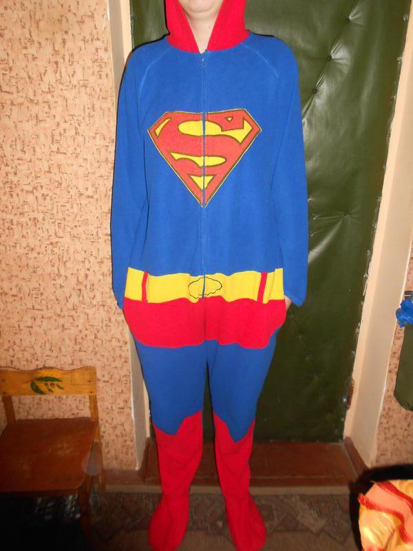 Пижама кигуруми комбинезон супермен унисекс superman рост 1751 ... c1ed4504e7534