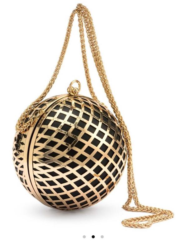 d66c771889ee Круглый стильный вечерний клатч h&m H&M, цена - 650 грн, #3416893 ...