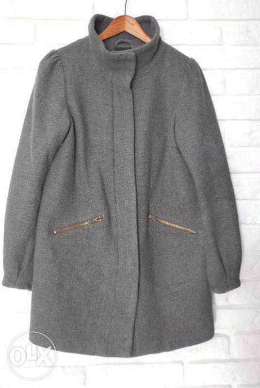 68c7bc9fe29 Пальто шерстяное демисезонное осеннее весеннее h m1 фото ...