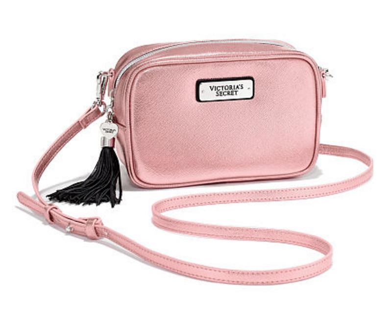 Аксессуары викториас сикрет  сумка, кроссбоди. цвет  розовый металлик.1 ... 50b72c8e3d2