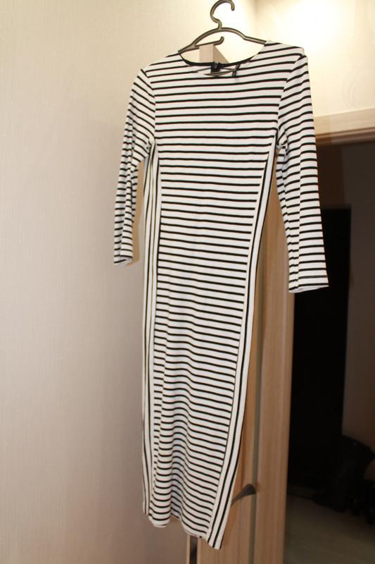 Страдивариус платье полоску