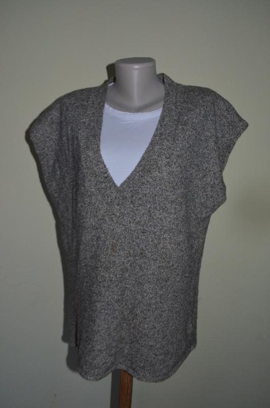 Классная теплая безрукавка удлиненная шерсть шелк, цена - 120 грн, #30265471, купить по доступной цене | Украина - Шафа
