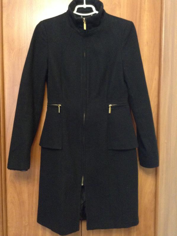 0507bf50b4c4 Черное осеннее пальто top secret Top Secret, цена - 300 грн ...
