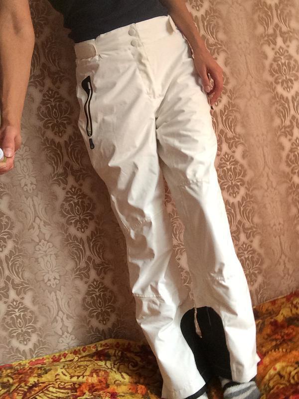 Последняя цена!лыжные белые штаны. горнолыжные штаны. crivit. теплые штаны.  зимние ... 49eb5836b96
